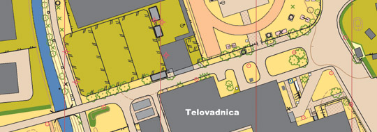 school orienteering map